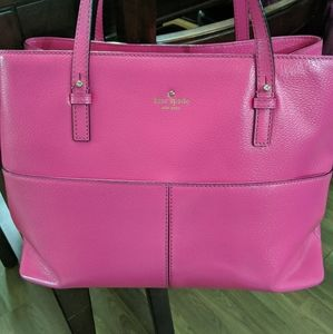 Kate Spade Large Hot pink Satchel